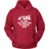 Oh look, you know how to castle... Cute! -  Unisex Hoodie