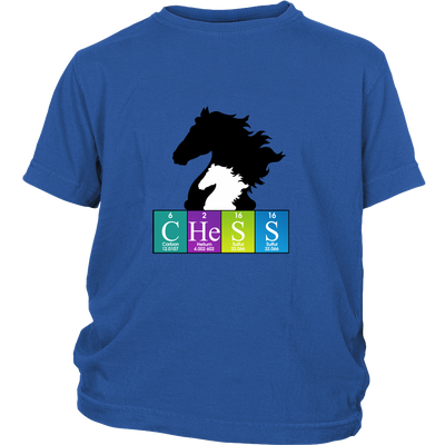 Chess Chemistry Periodic Table Youth T-Shirt