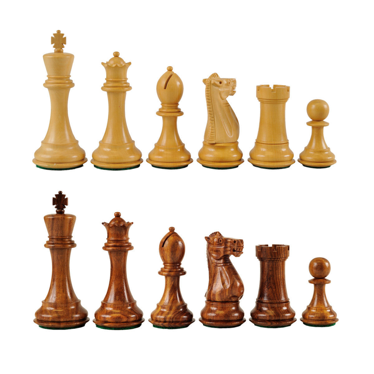 St. Petersburg Wooden Chess Pieces