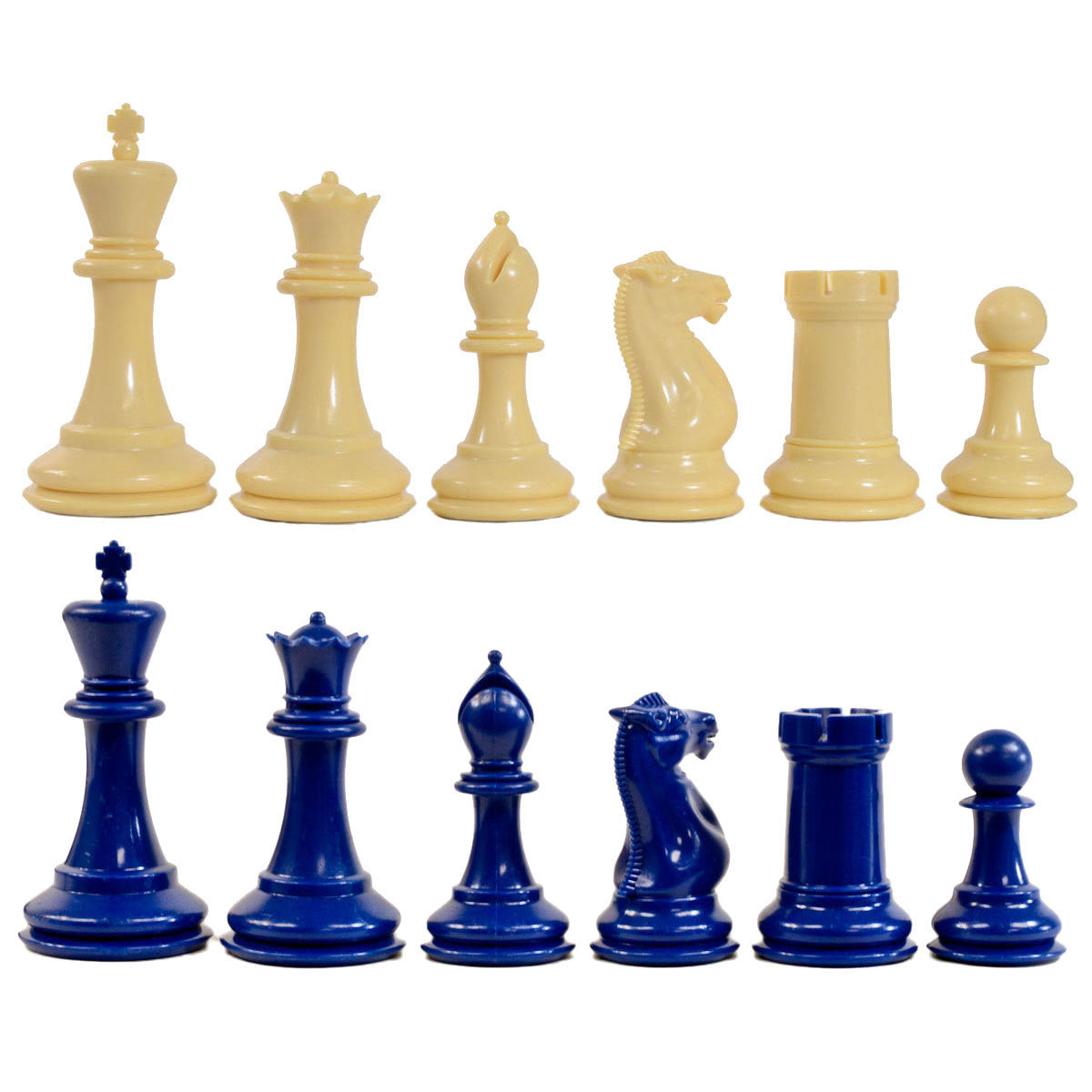 Traditional Staunton Chess Pieces
