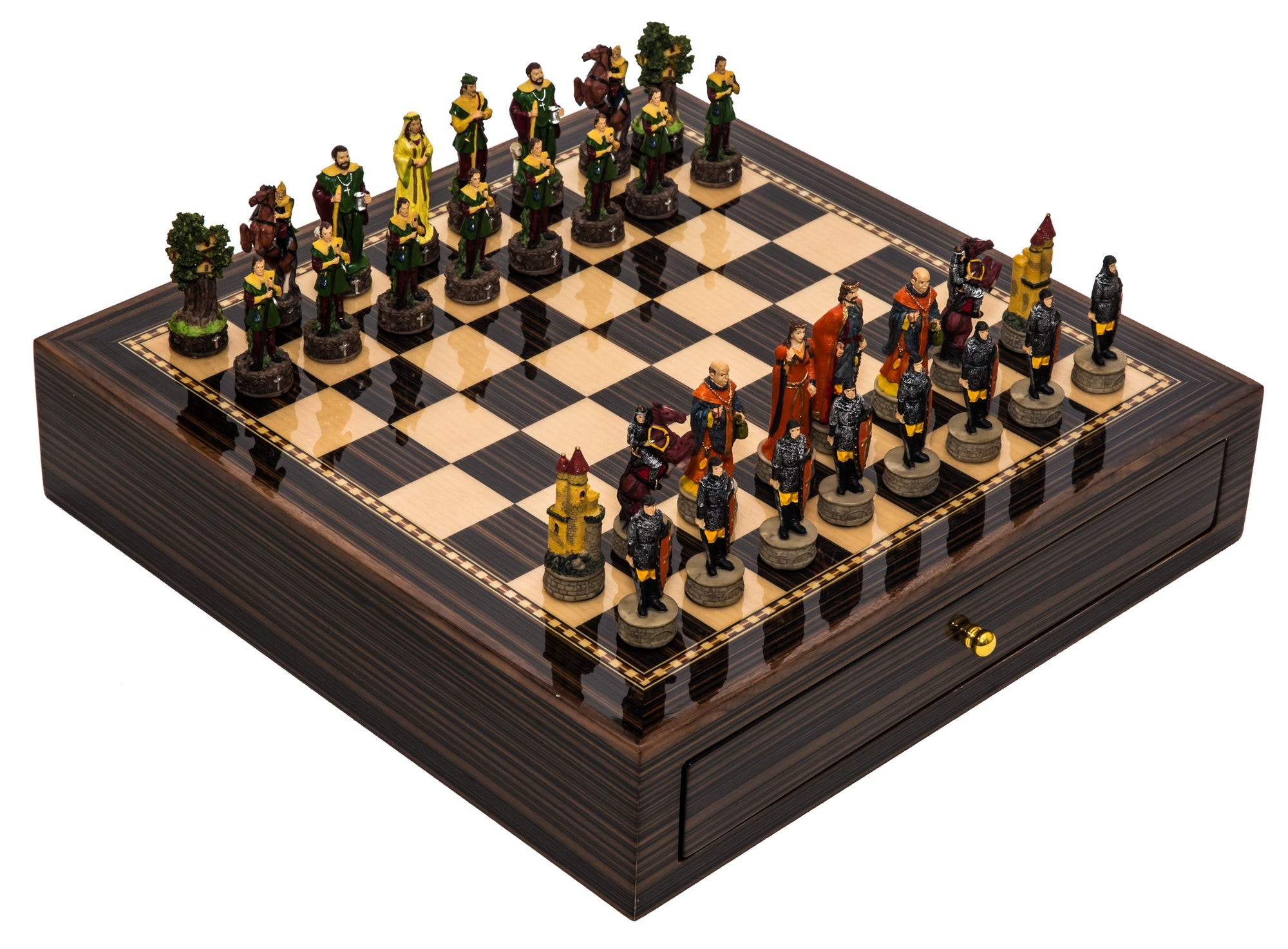 Robin Hood Deluxe Chess Set