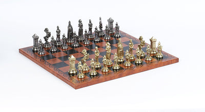 Victorian Leatherette Chess Set