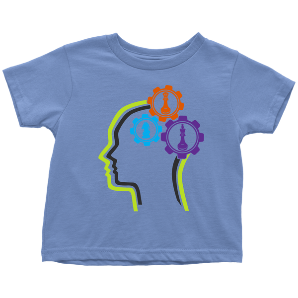 Chess in the mind - Chess Gears - Toddler T-shirt