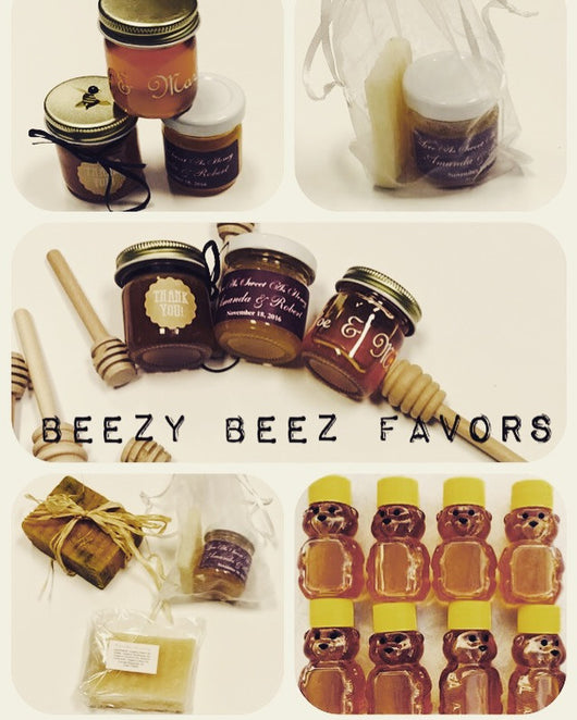 Beezy Beez Honey Favors