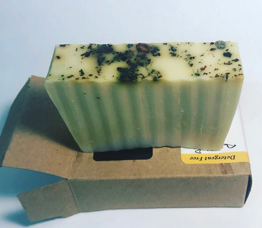 Hemp Extract morning Mint Soap 100mg