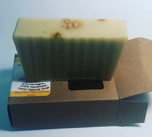 Hemp Extract Sweet Orange Soap 100mg