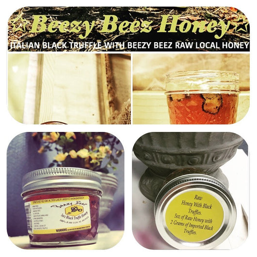 5oz BLACK TRUFFLE HONEY