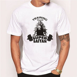 Training To Go Super Saiyan Tshirt