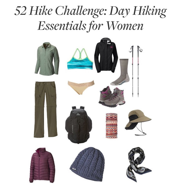 Day Hiking Essentials for Women: Clothing, Footwear, and Accessories
