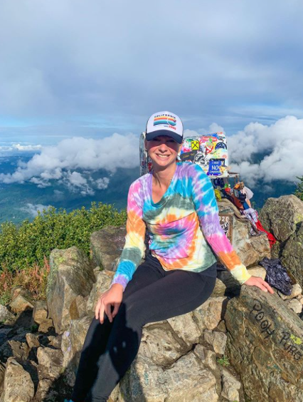 Finisher Feature - Becky Gerspacher: 52 Hike Hikes 40!