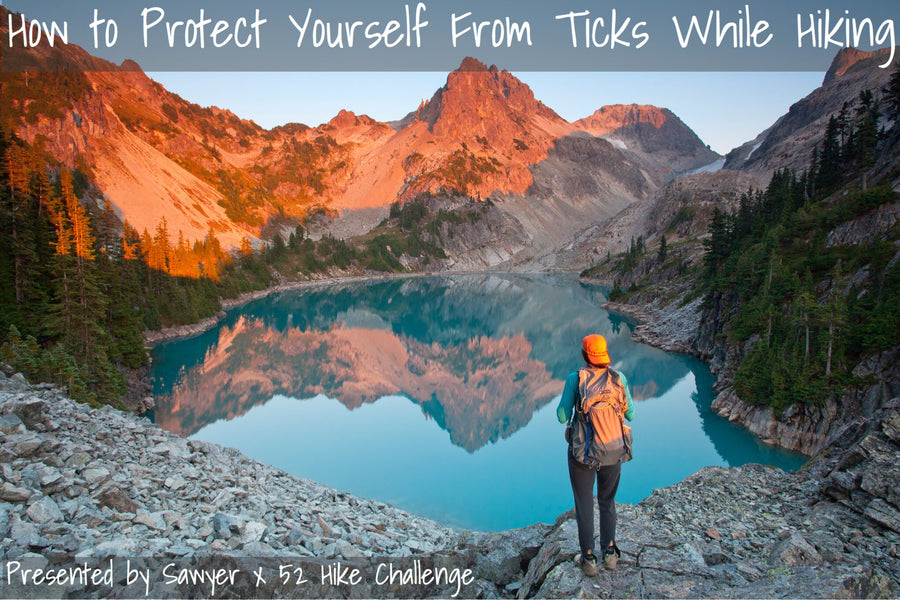 Sawyer Insect Repellent + 6 Ways To Protect Yourself From Ticks While Hiking