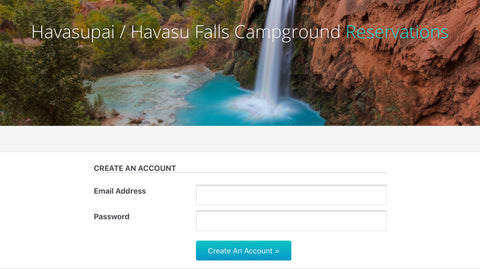 Official Havasupai Tribe Campground Reservations