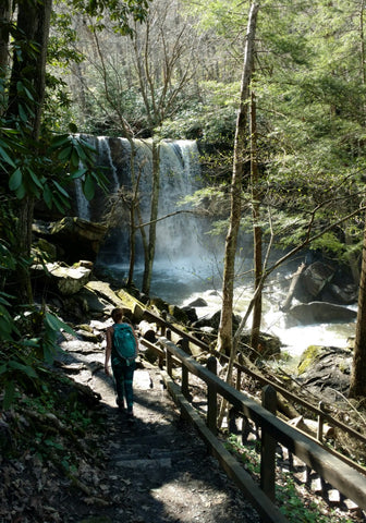 Ohiopyle State Park, Ohiopyle PA – April 2017 (waterfall hike)