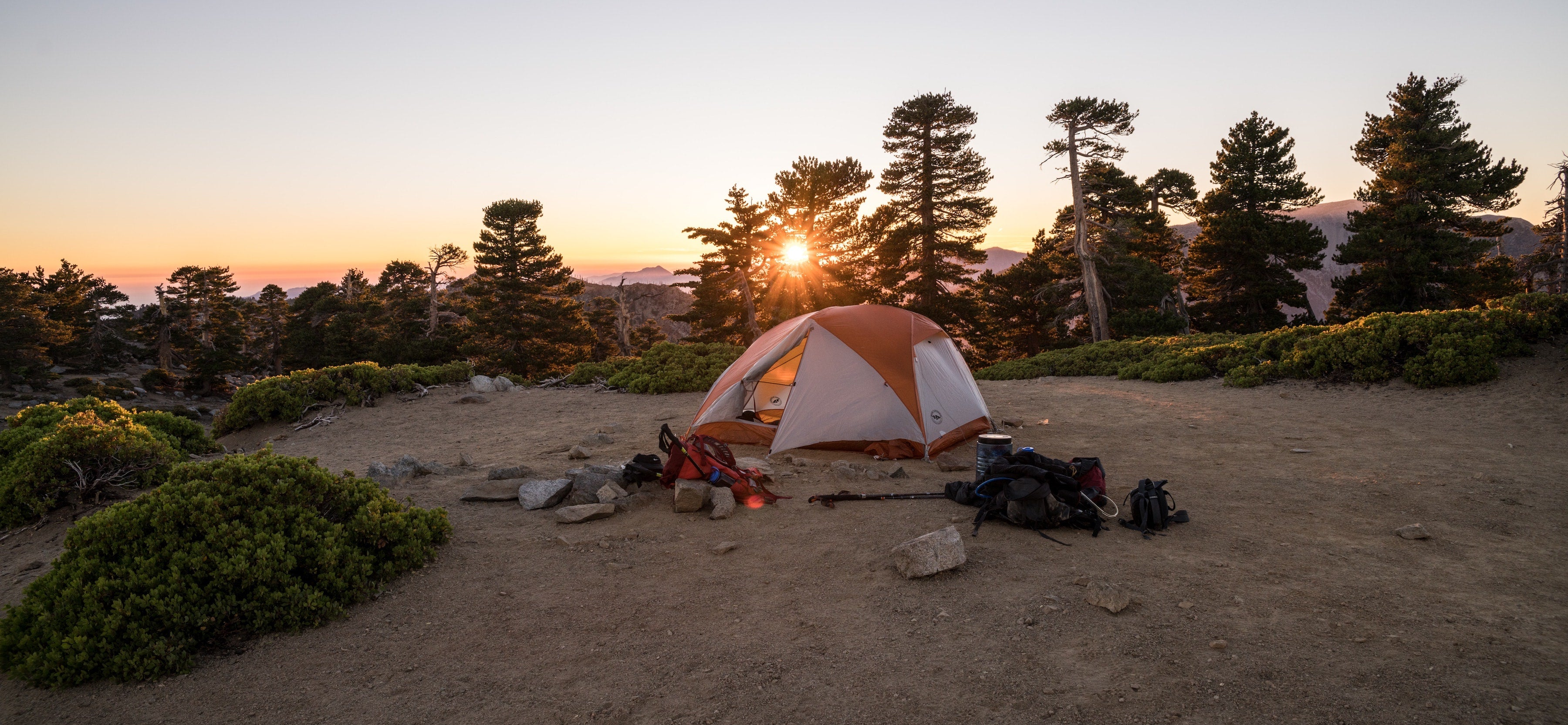 backpacking camping gear