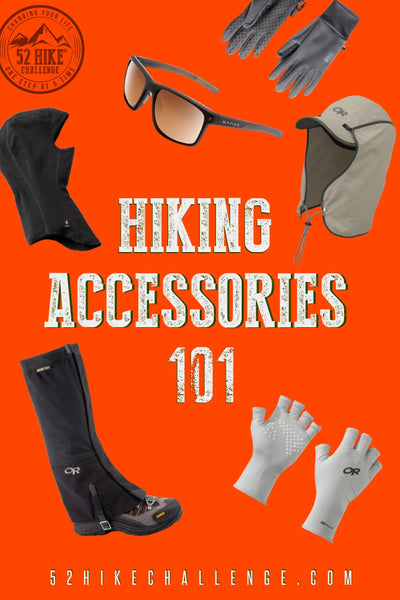 hiking accessories 101