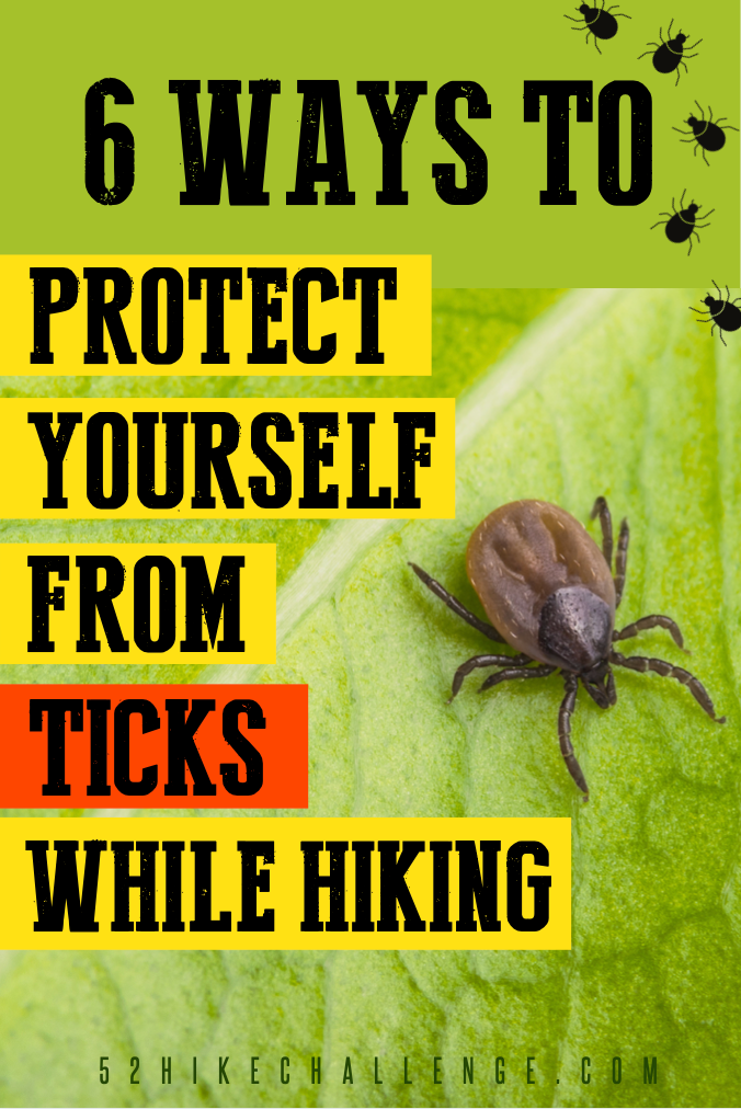6 Ways To Protect Yourself From Ticks While Hiking