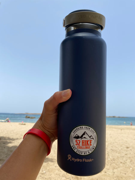Waterbottle for hydration in the heat
