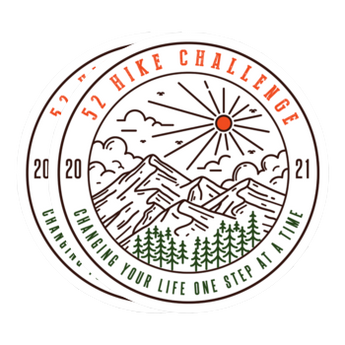 52 Hike Challenge 2021 Stickers Pack (2-Pack)