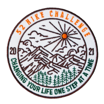 52 Hike Challenge 2021 Patch