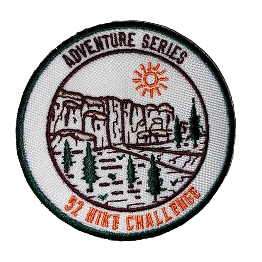 52 Hike Challenge Adventure Series Patch