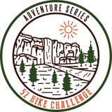 52 Hike Challenge Adventure Series Stickers Pack (2-Pack)