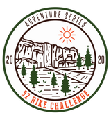 52 Hike Challenge Adventure Series 2020 Stickers Pack (2-Pack)