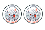 52 Hike Challenge Kids Series Stickers (2-Pack)
