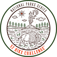 52 Hike Challenge National Parks Patch