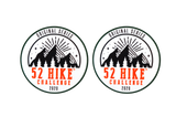 52 Hike Challenge Original Series 2020 Stickers Pack (2-Pack)