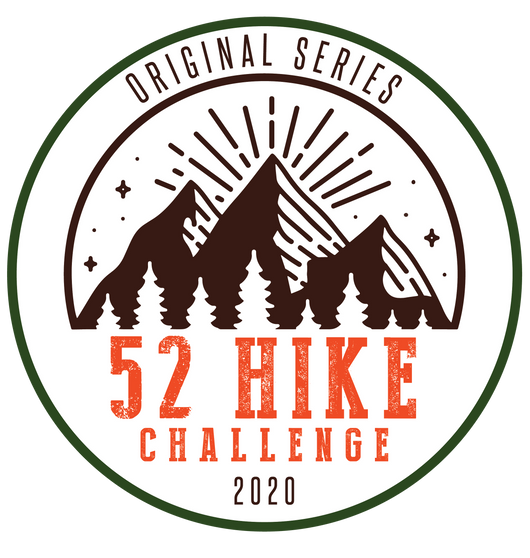 52 Hike Challenge Original Series 2020 Patch