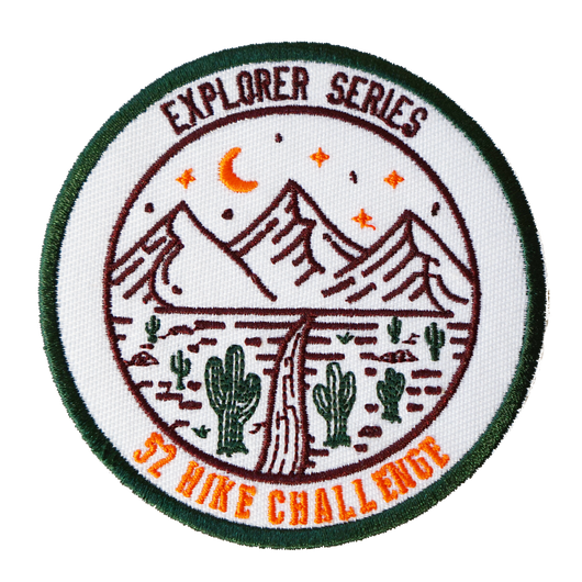 52 Hike Challenge Explorer Series Patch