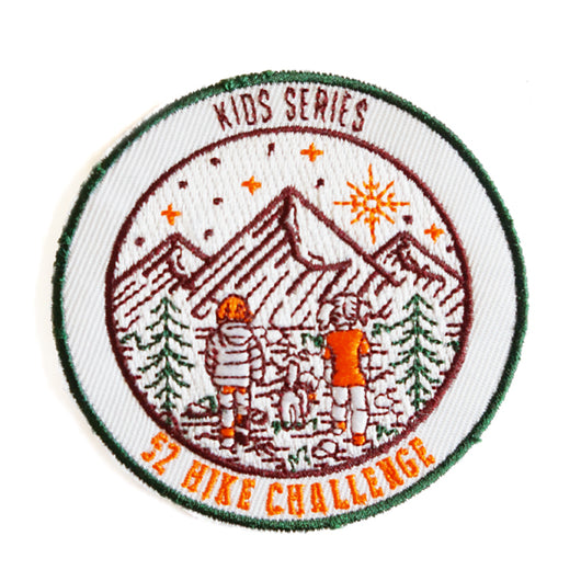 52 Hike Challenge Kids Series Patch