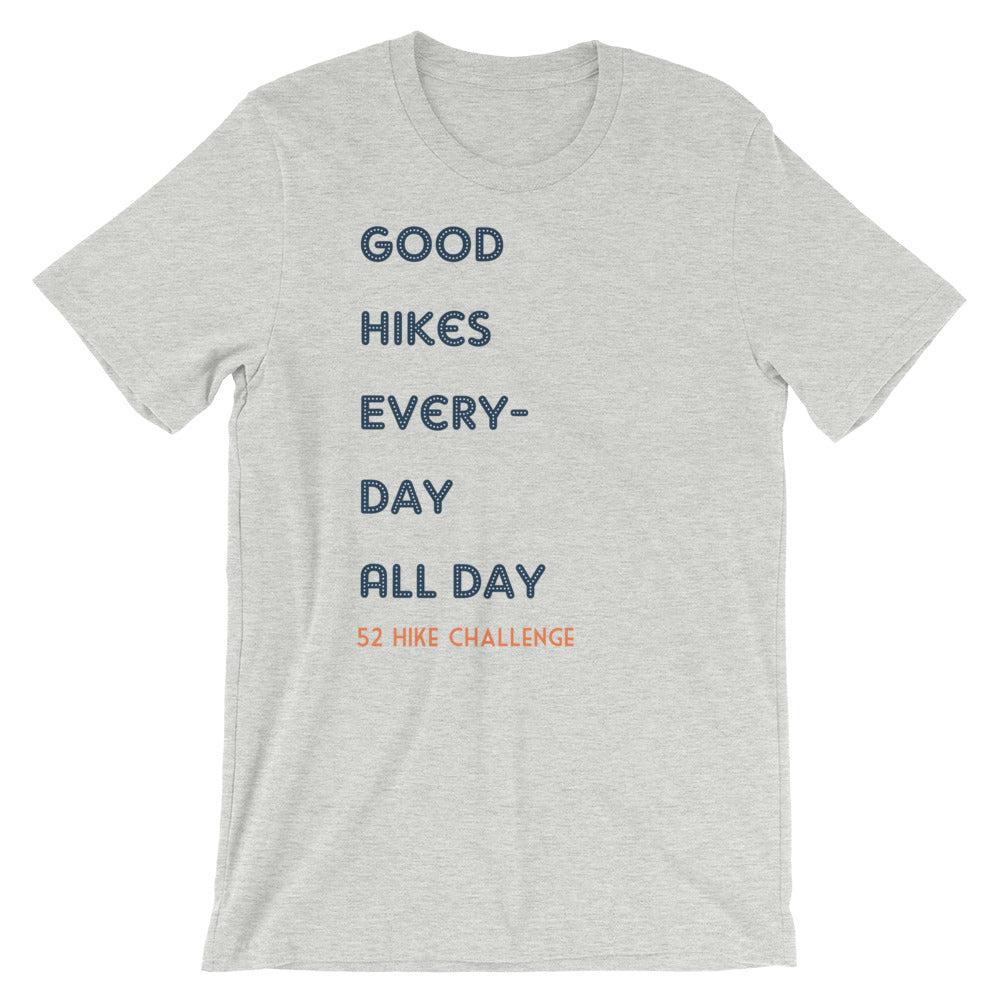 Good Hikes Short-Sleeve Unisex T-Shirt