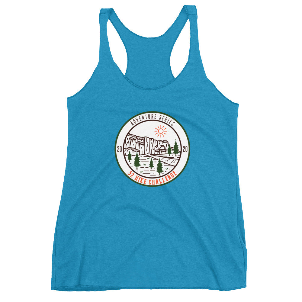 2020 Limited Edition 52 Hike Challenge Adventure Series Women's Racerback Tank