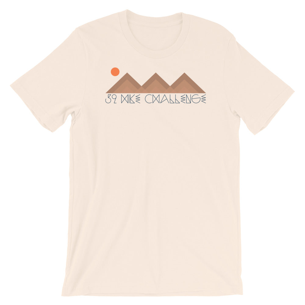 Triple Peak Short-Sleeve Unisex T-Shirt