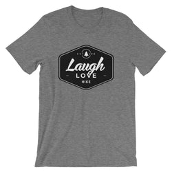 Love, Laugh, Hike Unisex Tee