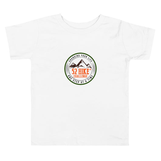 52 Hike Challenge Toddler Short Sleeve Tee