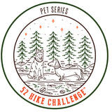 52 Hike Challenge Pet Series Stickers (2-Pack)