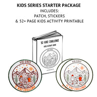 52 Hike Challenge Kids Series Starter Package