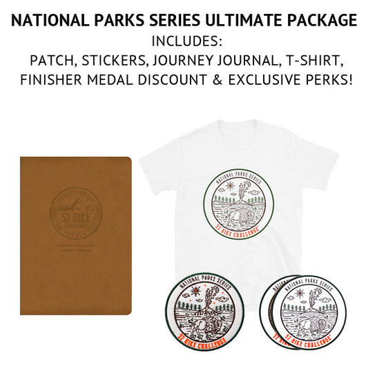 52 Hike Challenge National Parks Series Ultimate Package