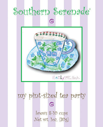 My Pint-Sized Tea Party - children's tea