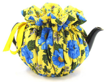 Bright Sunny Blue Tea Cozy TEST