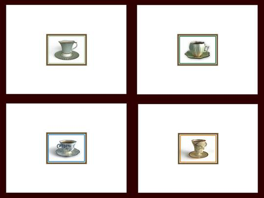 Southern Serenade Classic Teacup Notecards