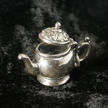 Sterling Silver Teapot Charm