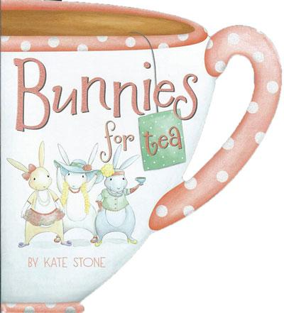 Bunnies for Tea - children's tea book
