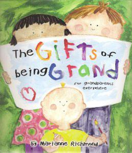 Gifts of Being Grand - book for grandparents