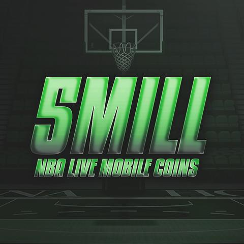 5 Million NBA Live Mobile Coins