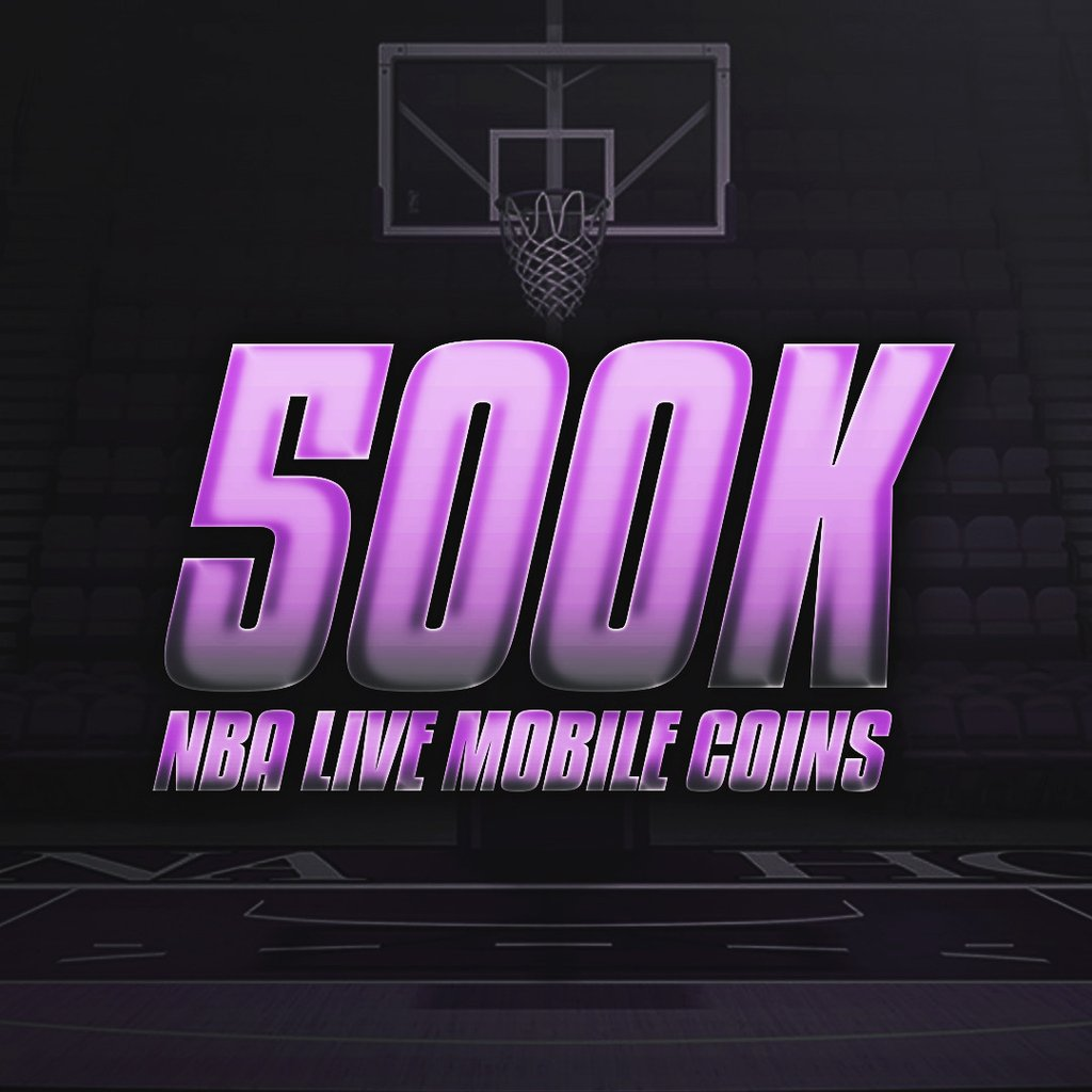 500K NBA Live Mobile Coins