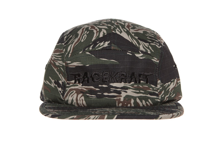 5 panel Tiger Camouflage Cap