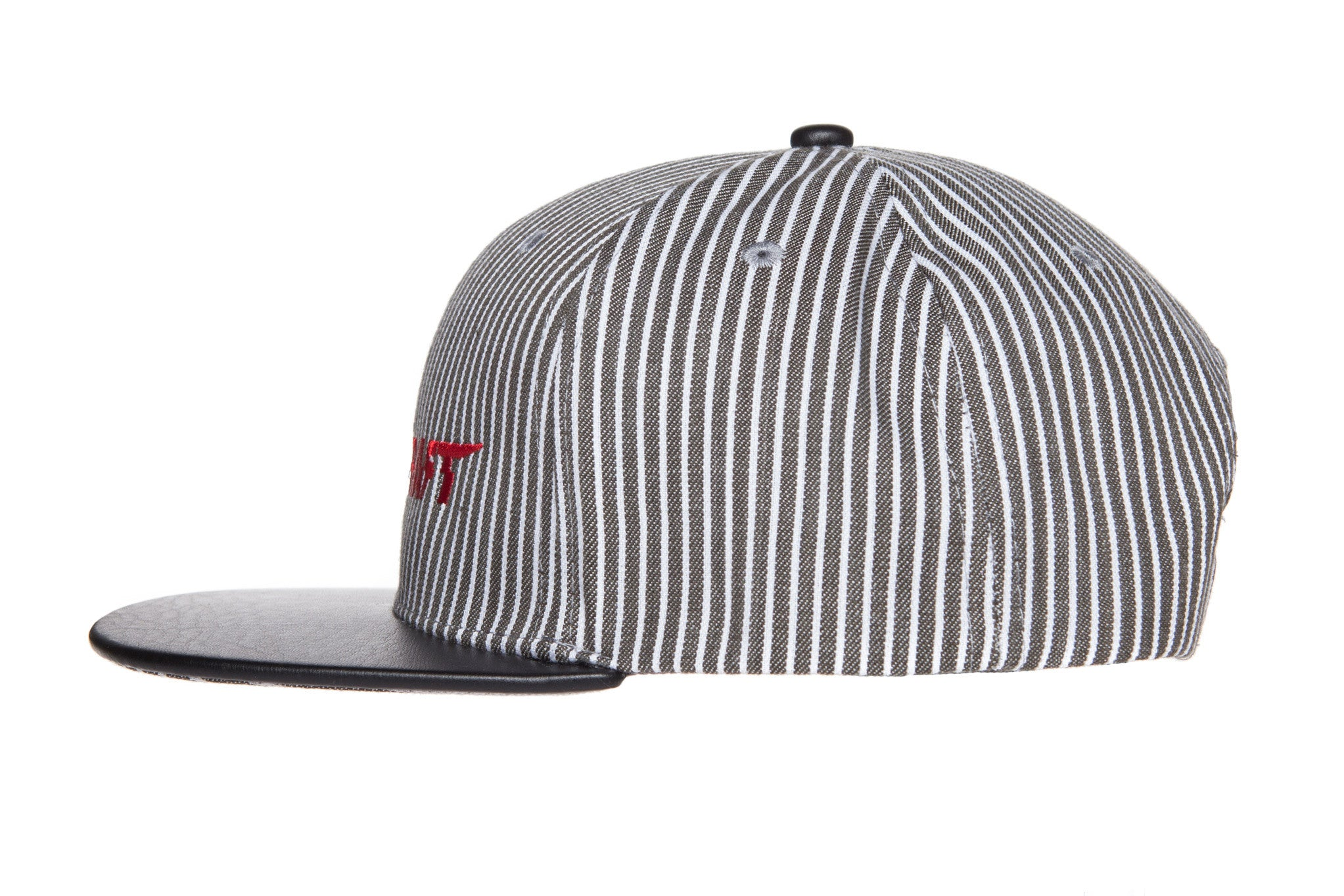 "Limited Edition ""Blood-In Club"" Pinstripe Snapback (Black)"